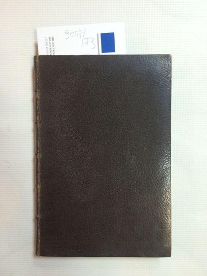 BIGNON (Jérôme) Traité de l'élection du Pape. Réimpression faite d'après l'édition...