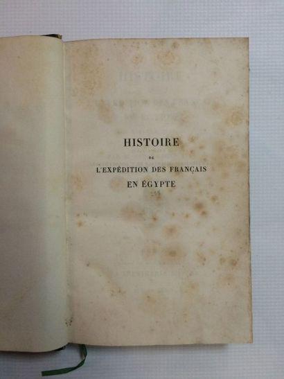 EL-TURK (Nakoula Ibn Youssouf) & DESGRANGES (Alix) Histoire de l'expédition des Français...