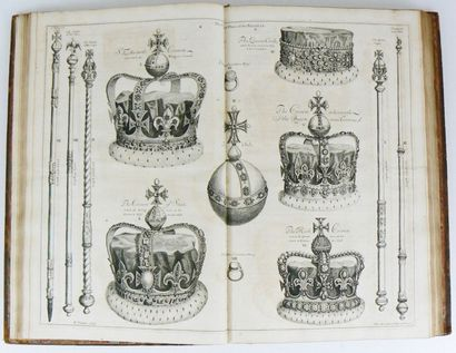 Livre de fêtes - SANDFORD (Francis) The history of the Coronation of the Most Hight,...