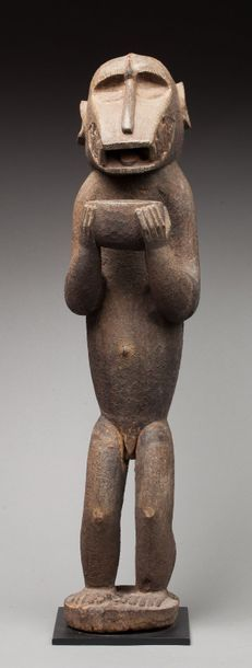 Statue signesque représentant un génie de la brousse Gbekré