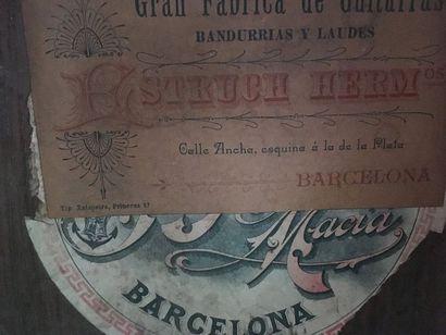 Guitare Romantique Barcelone