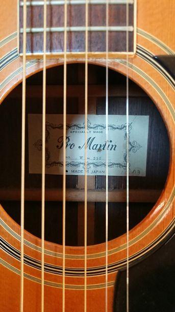 Guitare folk Western Pro Martin