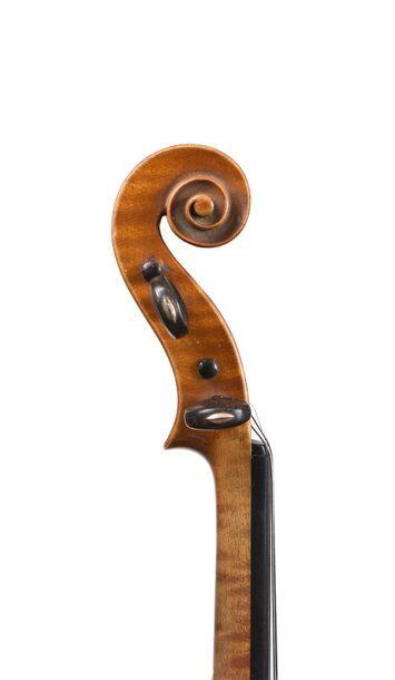 Violon Français fait par L. MOUGENOT JACQUET GAND fait par L. MOUGENOT JACQUET GAND...