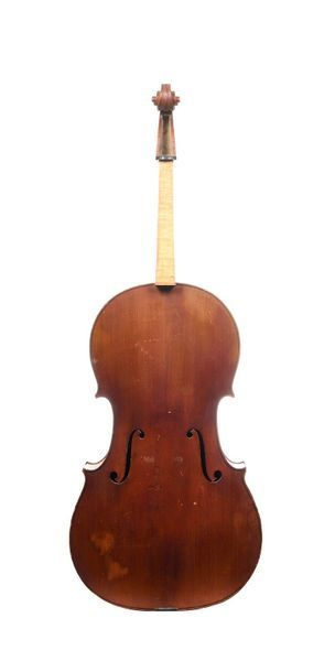 Violoncelle Français fait par Charles RESUCHE (1858 -1913)