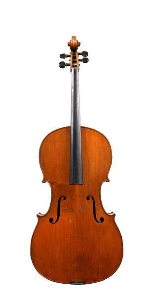 Violoncelle Français fait par MANGEIN