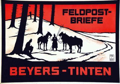 Beyers Tinten Feldpost- Briefe vers 1917