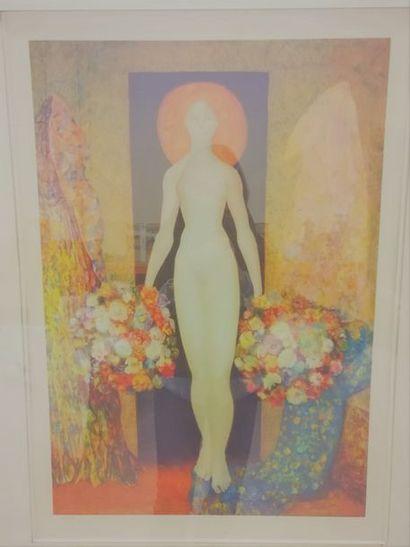 Léonore Fini (1907-1996) Jeune fille rousse...