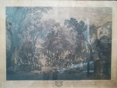 D'après Antoine WATTEAU (1684-1721) La signature...
