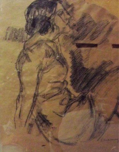 Pierre COMBET-DESCOMBES (1885-1966) Portrait...