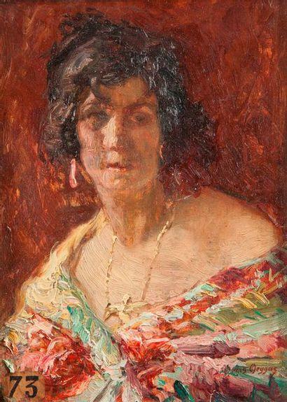 Régis Jean François DEYGAS (1876-1945) Portrait...