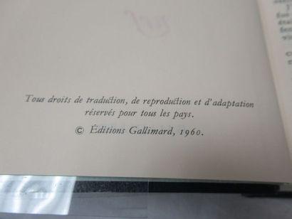 """LA PLEIADE, Casanova, """"Mémoires"""", tome 3, 1978"""