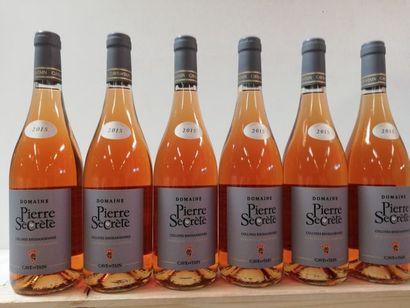 6 bouteilles de Domaine des Pierres Secrètes...