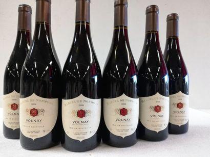 6 bouteilles de Volnay. Bourgogne. 2018....