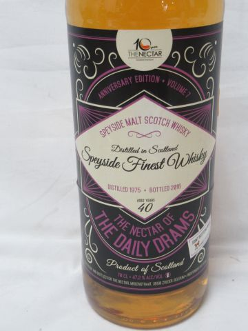Speyside Malt Scotch Whisky 1975 (40 ans,...