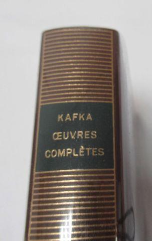 LA PLEIADE, KAFKA