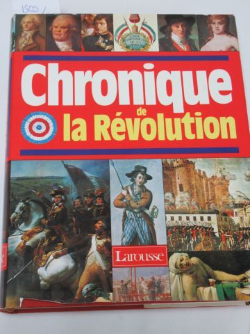 """""""Chroniques de la Révolution"""" Larousse, 1988"""