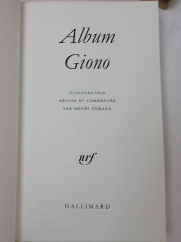 LA PLEIADE, Album Giono, 1980