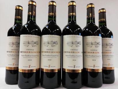 6 bouteilles de Saint Emilion Grand Cru....