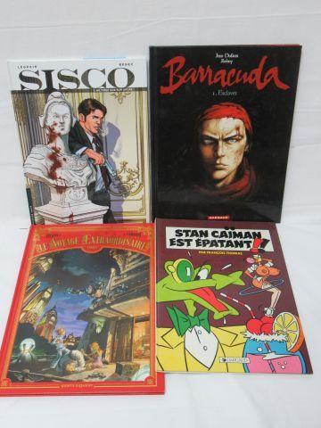 Lot de 4 bandes dessinées. Circa 2000/20...