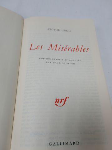 "LA PLEIADE, Victor HUGO, ""Les Misérables"", 1971"