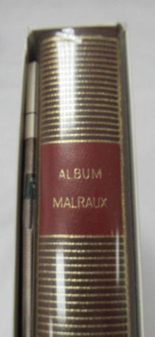 """LA PLEIADE, Album """"Malraux"""" 1986"""