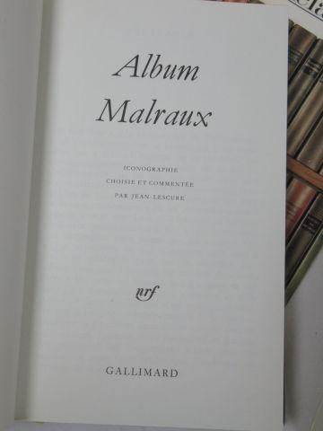 LA PLEIADE, Album Malraux, 1986