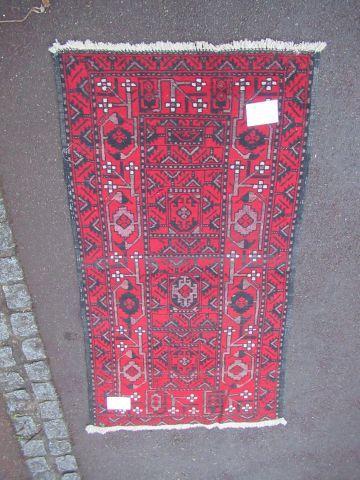 AFGHANISTAN Tapis Ersari en laine à décor...
