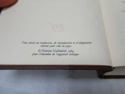 """LA PLEIADE, Colette """"Œuvres"""", tome 1, 2012"""