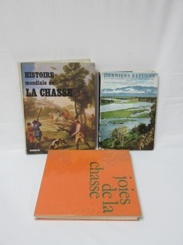 Lot de deux livres sur la chasse. On y joint...
