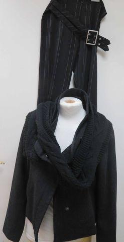 Lot comprenant une veste en laine (Vero moda,...