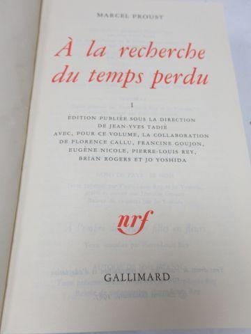 """LA PLEIADE, PROUST """"A la recherche du Temps perdu"""", tome 1, 2001"""