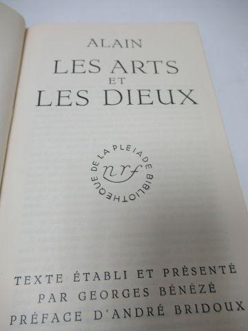 """LA PLEIADE, Alain, """"Les Arts et les Dieux"""", 1958"""