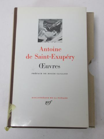 LA PLEIADE, Antoine de Saint Exupéry,