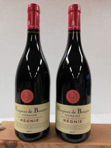 2 bouteilles de Hospices de Beaujeu. 2017....