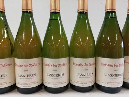 12 bouteilles de Jasnières. Domaine des Molières....