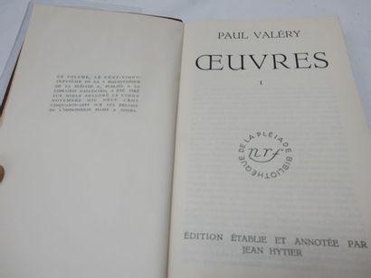 "LA PLEIADE, Paul VALERY, ""Œuvres"", tome 1, 1957"