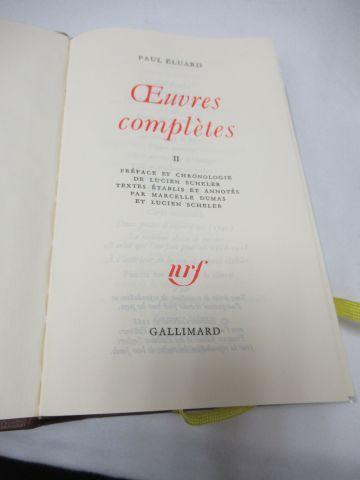 "LA PLEIADE, Eluard, ""Œuvres"", tome 2, 1991"