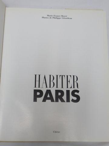 "Boyer et Girardeau ""Habiter Paris"" Chêne, 1988"