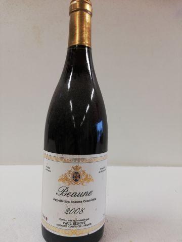 Bouteille de Beaune. 2008. Grand Vin de la...