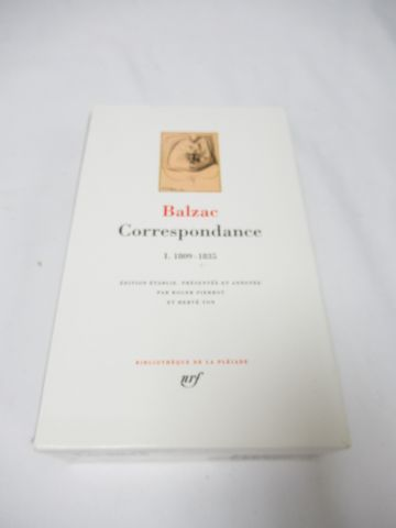 LA PLEIADE, Balzac,