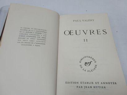 LA PLEIADE, Paul VALERY,