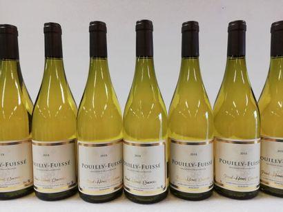 12 bouteilles de Pouilly-Fuissé. 2018. Bourgogne....