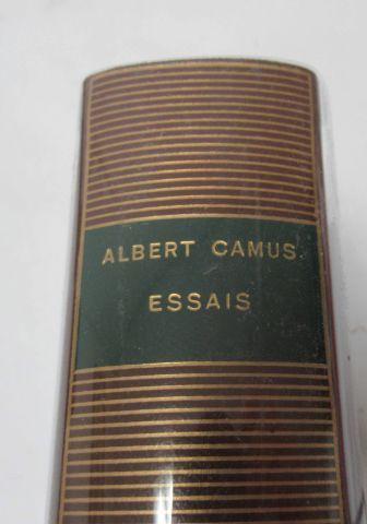 """LA PLEIADE, Albert CAMUS, """"Essais"""",1972"""