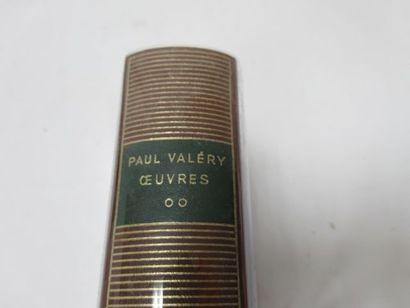 "LA PLEIADE, Paul VALERY, ""Œuvres"", tome 2, 1960"