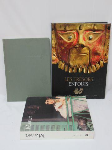 Lot de 3 livres d'Art : Manet (catalogue...