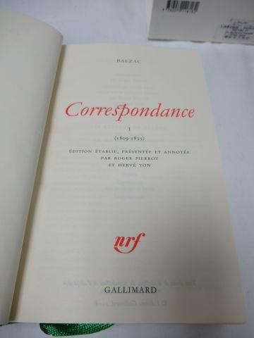 "LA PLEIADE, Balzac, ""Correspondances"", tome 1, 2006"