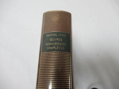"LA PLEIADE, Aymé, ""Œuvres romanesques"", tome 1, 1990"