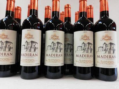 12 bouteilles de Madiran. 2015. La Croix...