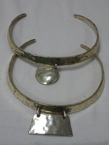 L'ARMADA Lot de deux colliers rigides en...
