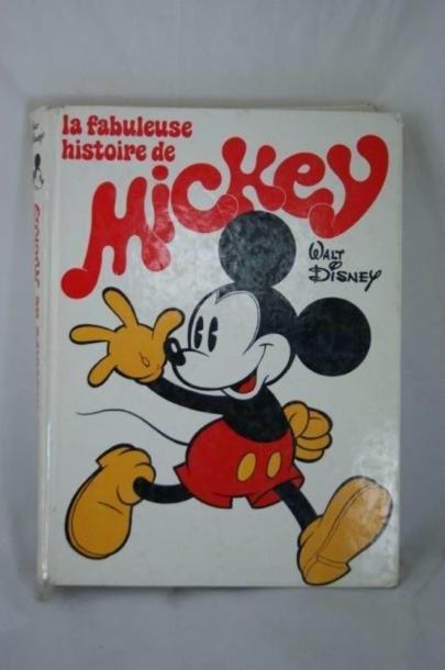 La fabuleuse histoire de Mickey, Le Livre...